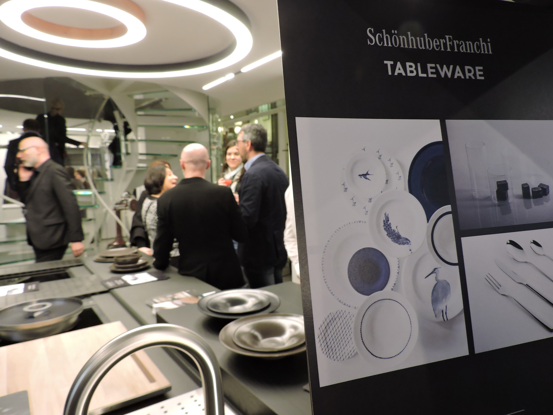 Fuorisalone 2017 - Desing Week 2017 - Binova Milano - cocktail con Davide Oldani e Schonhuber Franchi 013
