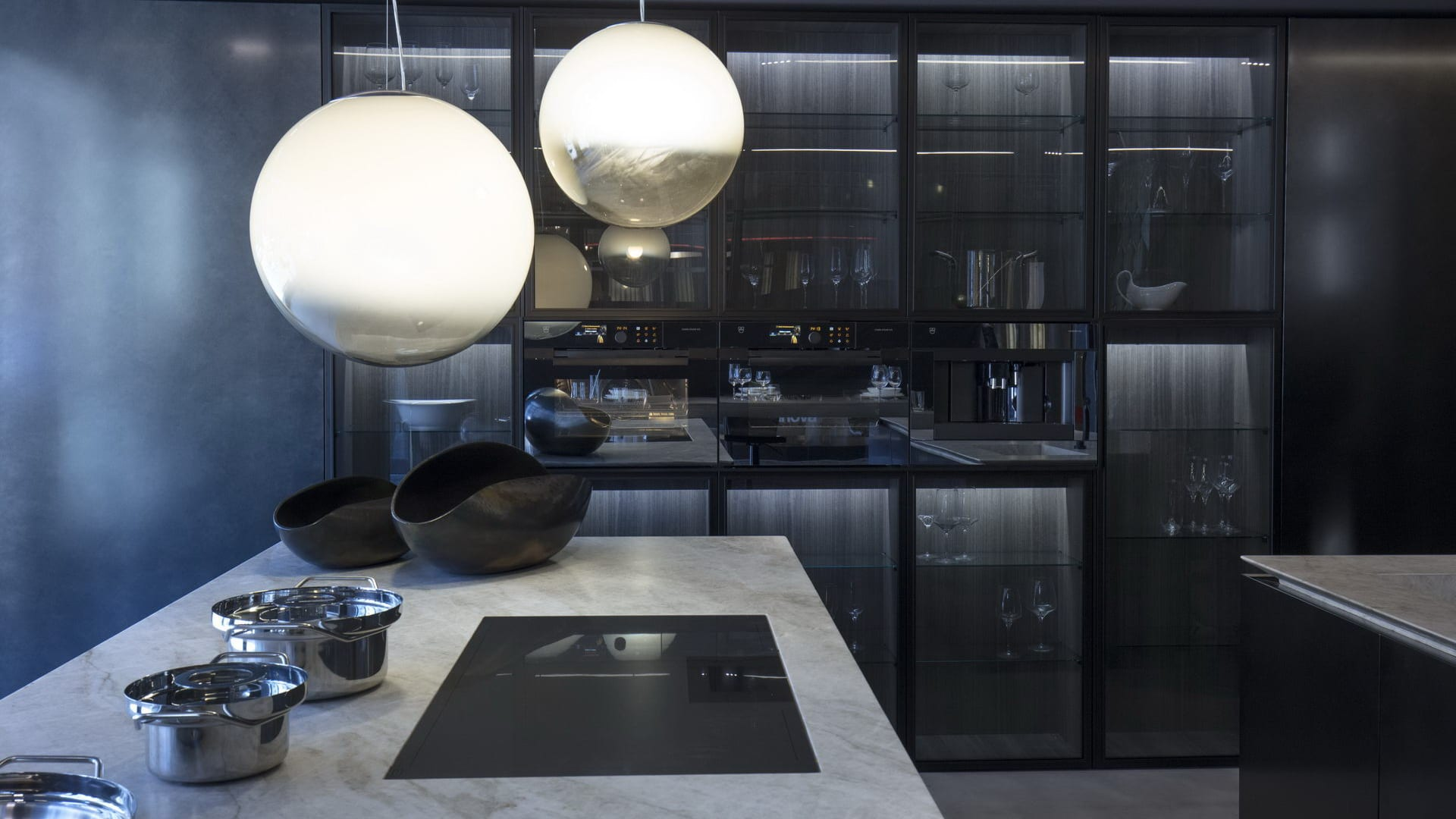 contract design Binova - modern kitchens of Italian design