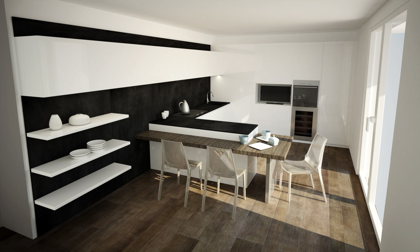 Modern Kitchen Design Bluna Lab Milano Kitchen Project