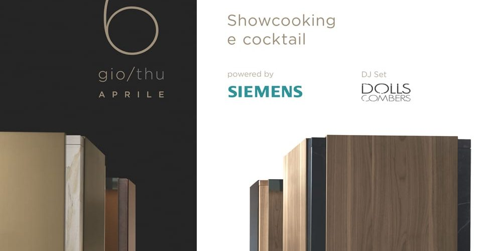 Showcooking and cocktail
