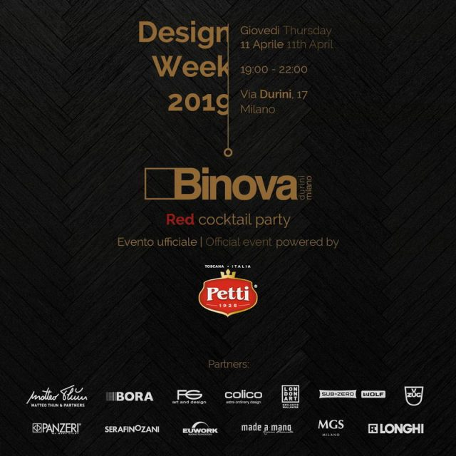 Binova with Petti – Aprile 11, 2019