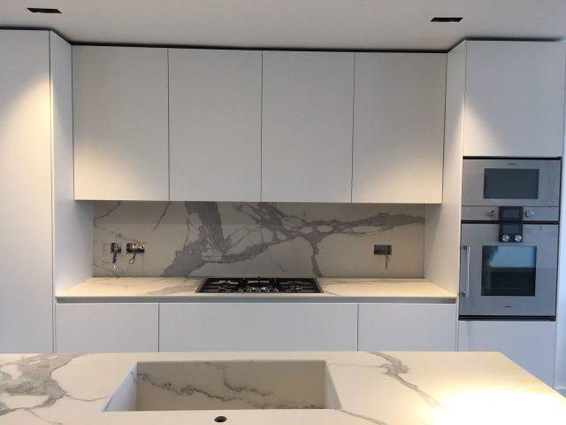 binova milano - mounting kitchen mantis with door 1,20 cm