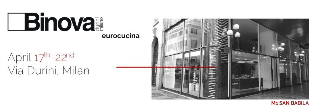 Binova Milano Eurocucina 2018
